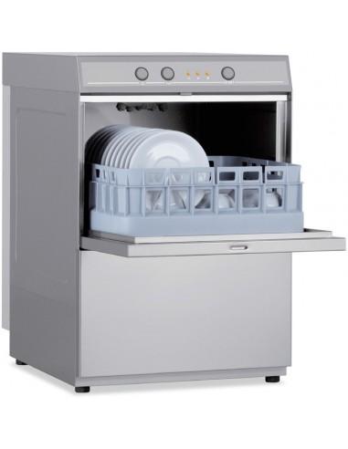 Lavavasos Industrial con Cesta de 35x35cm de 400x480x650h mm CH350