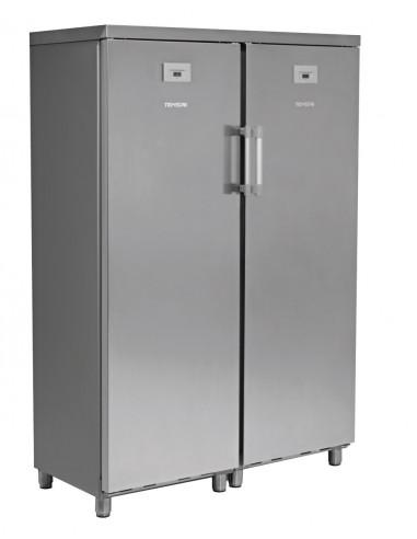 Armario Snack Mixto Inoxidable Refrigerado/Congelados Side by Side KITCF350PROSS