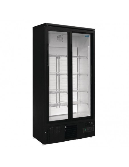 Armario Expositor Refrigerado Vertical 2 puertas 490 Litros GJ448 POLAR