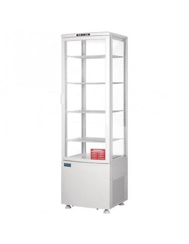 Expositor Refrigerado Vertical con Puerta Curva 235 Litros CB509 POLAR
