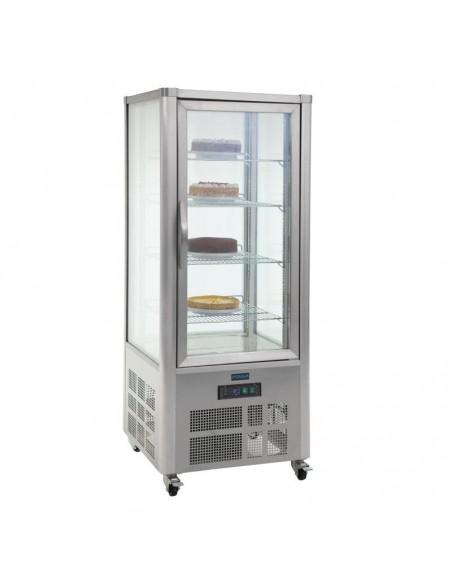 Vitrina Expositora Refrigerada Pastelera con 4 estantes 400 Litros GD881 POLAR