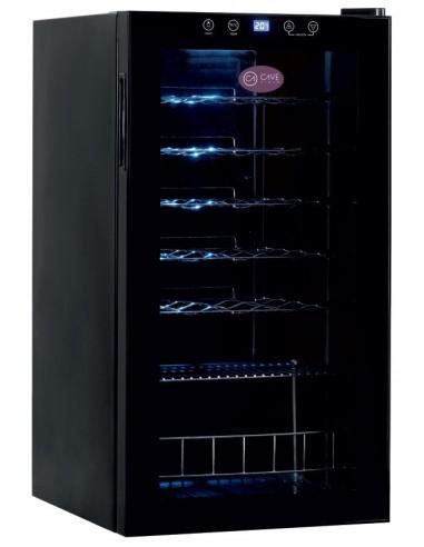 Armario de Vino de Una Temperatura con Puerta de Vidrio CV-28-C