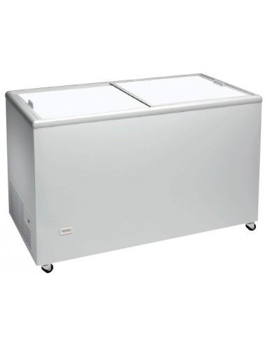 Congelador Horizontal Puerta Ciega Corredera ICE400NTOS