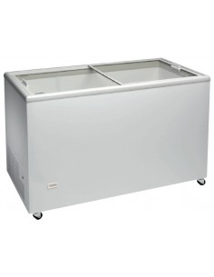Congelador Horizontal Puerta Vidrio Corredera ICE400NTVS