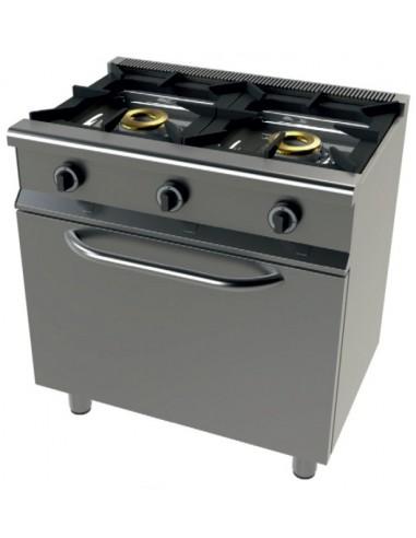 Cocina a Gas con Horno GN1/1 4,5 kw,...