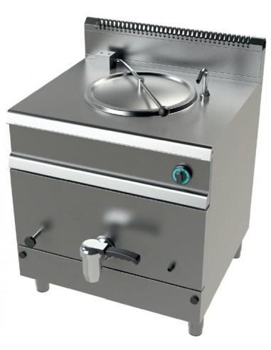 Marmitas a Gas 50 Litros Calentamiento Directo 15kw Serie 700 MG7N050D