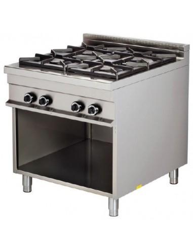 Cocina A Gas 4 Fuegos 4X8Kw Serie 900 GR921