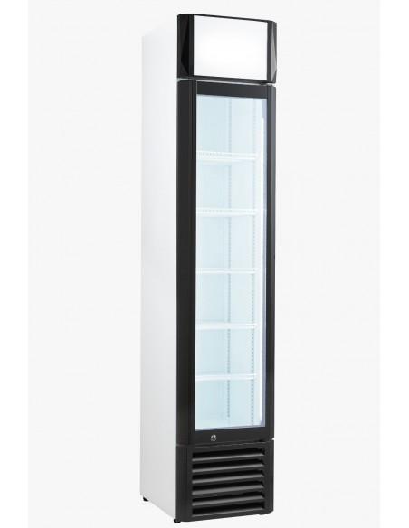 Armario Expositor Refrigerado con puerta de vídrio Slim line CSL-160