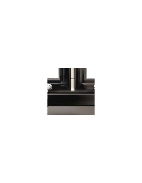 Armario Expositor Refrigerado 3 Puertas Batientes Vidrio CST1600