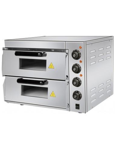 Horno Eléctrico De Pizza Compacto Para 2 Pizzas 38 Cm PDK40