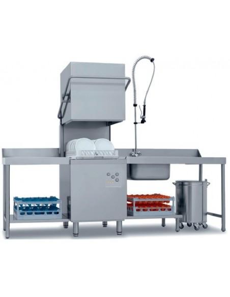 Lavavajillas Industrial Tipo Capota con Cesta de 50x50cm CH800