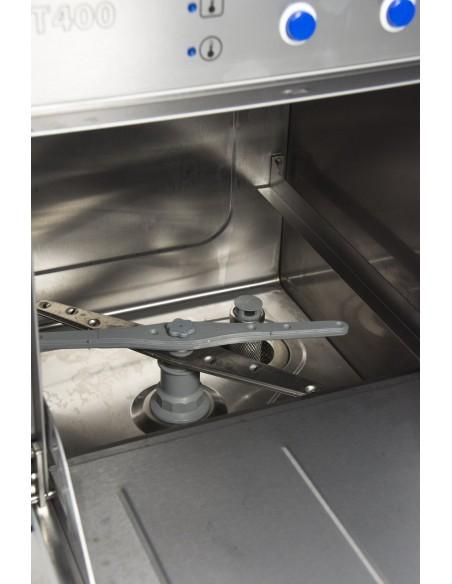 Lavavajillas Industrial con Bomba de Desagüe y Cesta de 40X40 ST400B