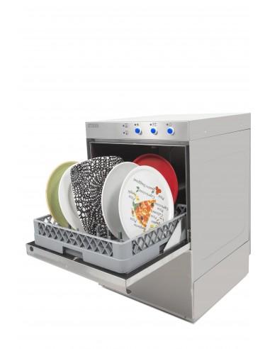 Lavavajillas Industrial con Bomba de Desagüe y Cesta de 50X50 ST500B