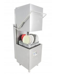 Lavavasos Industrial Tipo Capota con Cesta de 50x50cm ST800