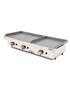 Plancha a gas Profesional serie DUO (60 laminado + 60 laminado) 6060PGLL