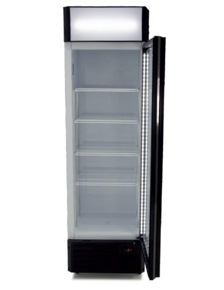 Armario Expositor Refrigerado Puerta Vidrio Digital CS360B