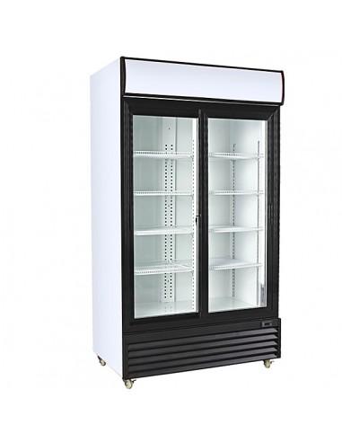 NUEVO Armario Expositor Refrigerado 2 Puertas Correderas MAF10002P